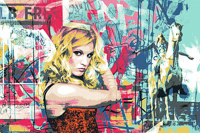 Mixed Media - Bombshell by Shay Culligan