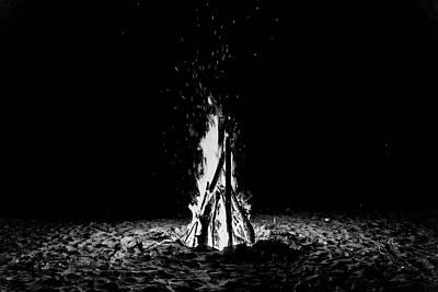 Photograph - Bon Fire by John Pierpont