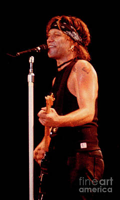 Jon Bon Jovi Photograph - Bon Jovi-93-jon-3646 by Gary Gingrich Galleries