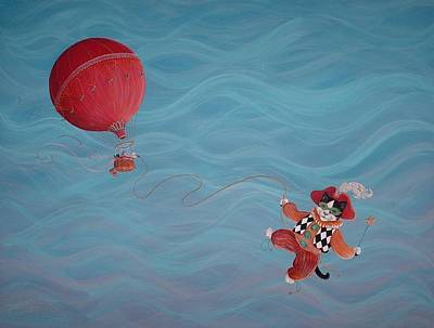 Art Print featuring the painting Bon Voyage by Dee Davis