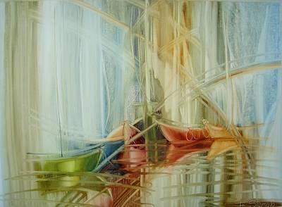 Painting - Bon Voyage by Fatima Stamato