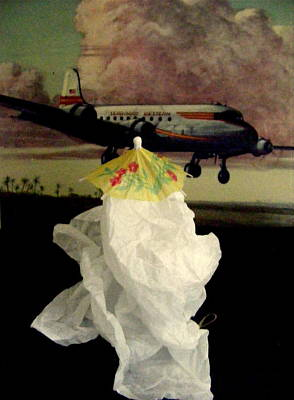 Mixed Media - Bon Voyage Mon Ami by Nancy Kane Chapman
