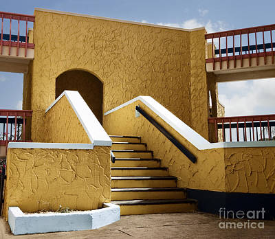 Exotic Photograph - Bonaire Architecture, Caribbean Islands by Dani Prints and Images