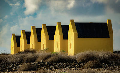 Photograph - Bonaire - Slave Huts by Mark Robert Rogers