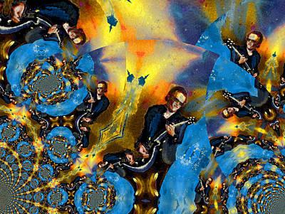 Painting - Bonamassa Mania by Miki De Goodaboom