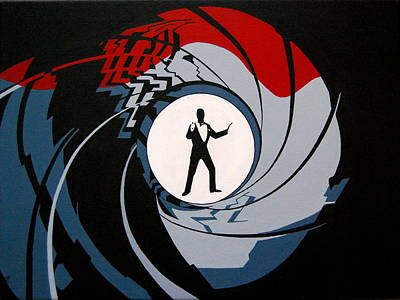 Sean Connery Painting - Bond 007 by Mr Minor