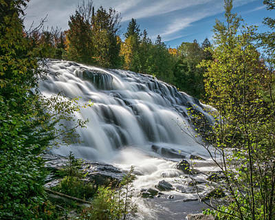 Photograph - Bond Falls by William Christiansen