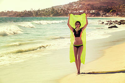 Photograph - Bond Girl Laguna Beach by Amyn Nasser