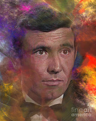 Digital Art - Bond - James Bond 2 by John Beck