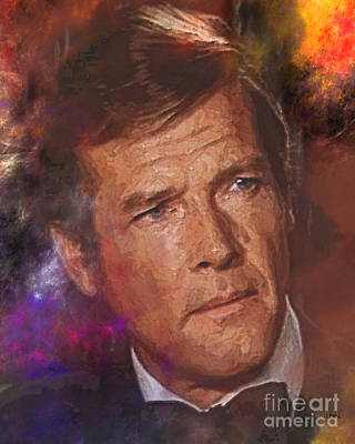 Digital Art - Bond - James Bond 3 by John Beck