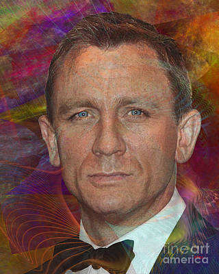 Digital Art - Bond - James Bond 6 by John Beck