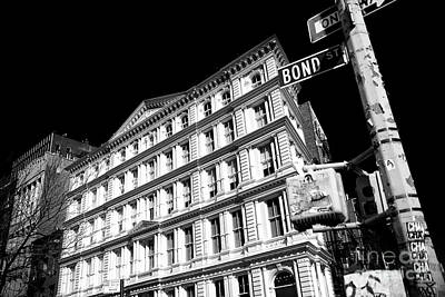 Photograph - Bond Street by John Rizzuto