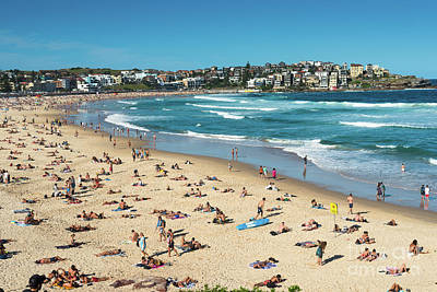 Photograph - Bondi Beach by Andrew Michael