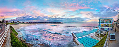 Swimmers Photograph - Bondi Beach Icebergs by Az Jackson
