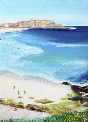 Bondi Painting - Bondi Beach  by Julie D