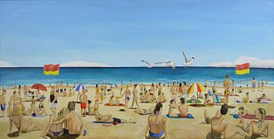 Bondi Painting - Bondi Beach by Winton Bochanowicz