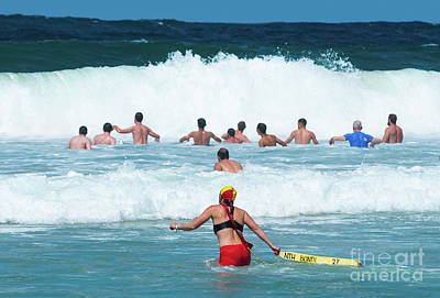 Photograph - Bondi Lifeguard by Andrew Michael