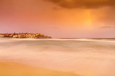 Pastel Sunset Photograph - Bondi Phenomenon  by Az Jackson