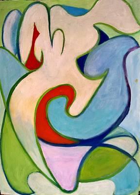 Painting - Bonds by Nicolas Bouteneff