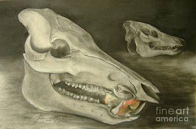 Bone Appetit Art Print by Julianna Ziegler