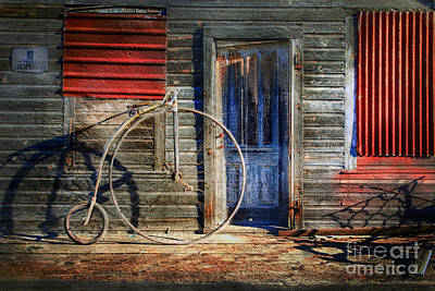 Photograph - Bone Back Bicycle by Craig J Satterlee