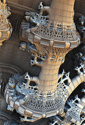 Digital Art - Bone Carving by Hal Tenny