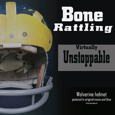 Bone Rattling Virtually Unstoppable Art Print