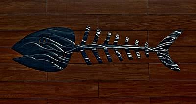 Bonefish Digital Art - Bonefish  by Rob Hans