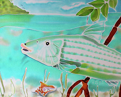 Painting - Bonefish by Tiff