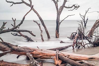 Botany Bay Photograph - Boneyard Beach - Heavy Timber by J Darrell Hutto