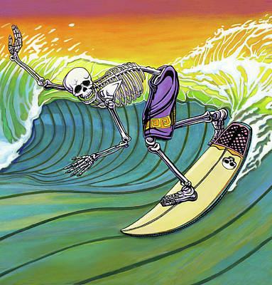 Boneyard Art Print by Jacob Medina