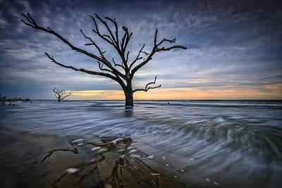 Photograph - Boneyard Solitude - Botany Bay Plantation by Rick Berk