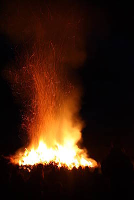 Photograph - Bonfire by Nareeta Martin