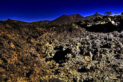 Photograph - Bonito Lava Flow At Sunset Crater by Roger Passman