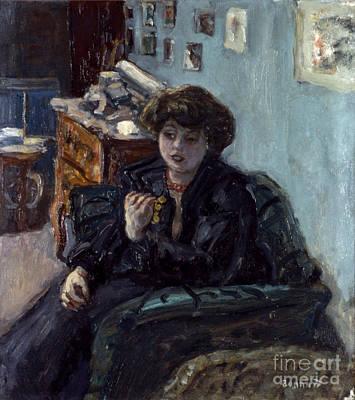 Photograph - Bonnard: Lady, 19th C by Granger