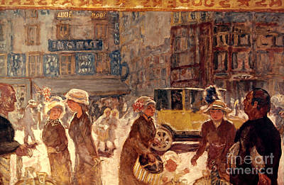 Photograph - Bonnard: Place Clichy by Granger