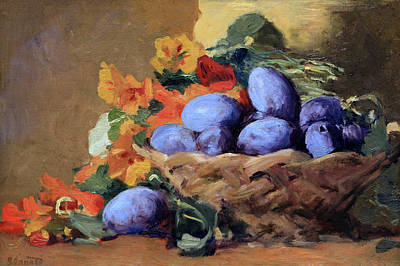 Photograph - Bonnard's Red Plums by Cora Wandel