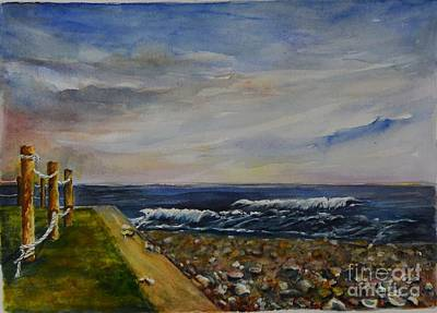 Painting - Bonnet Shore Scene by Madie Horne