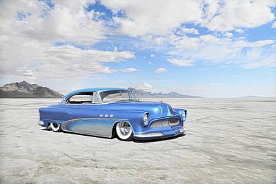 Photograph - Bonneville Buick by Steve McKinzie