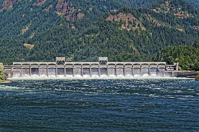 Photograph - Bonneville Dam by Scott Hill