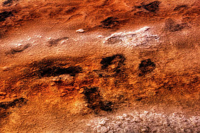 Photograph - Bonneville Salt Flats Detail No. 01 by Roger Passman