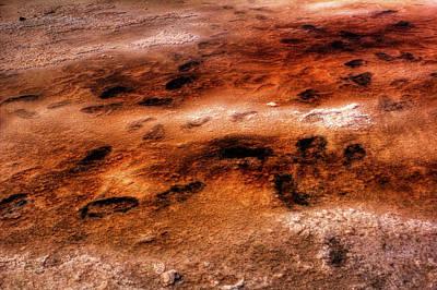 Photograph - Bonneville Salt Flats Detail No. 2 by Roger Passman