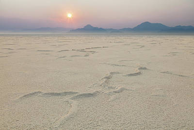 Photograph - Bonneville Salt Flats by Johnny Adolphson