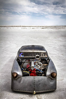 Bonneville Speed Week Images Art Print