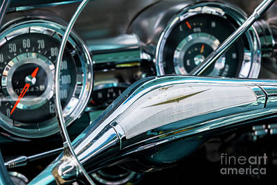 Photograph - Bonneville Steering by Dennis Hedberg