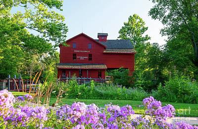 Photograph - Bonneyville Mill Bristol Indiana by David Arment