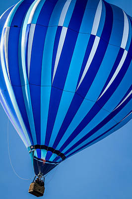 Photograph - Bonnie Blue - Hot Air Balloon by Ron Pate