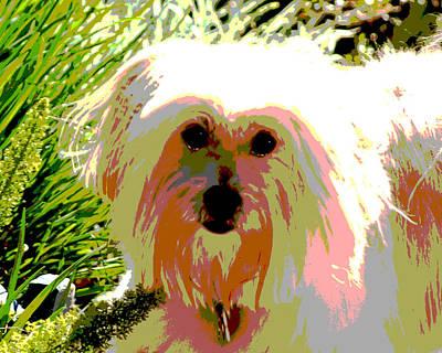 Bonnie In Color Art Print by Ellen Lerner ODonnell