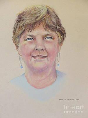 Pastel - Bonnie by Karol Wyckoff