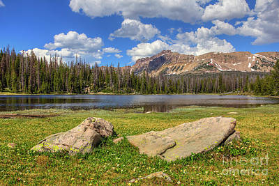 Photograph - Bonnie Lake by Spencer Baugh